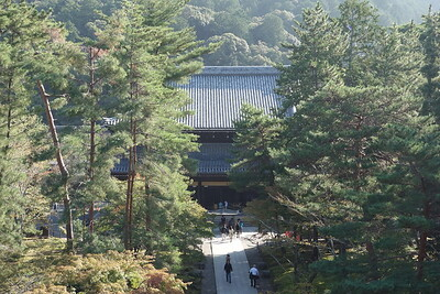 View of Hattō from Sanmon gate