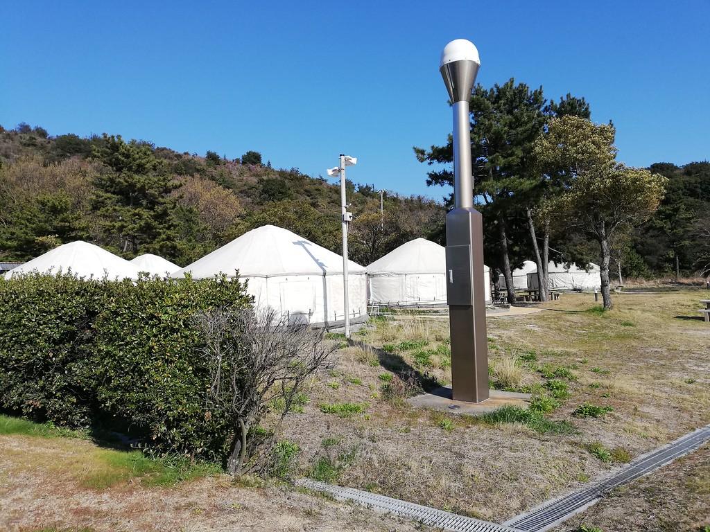 Tsutsujiso Lodge yurts