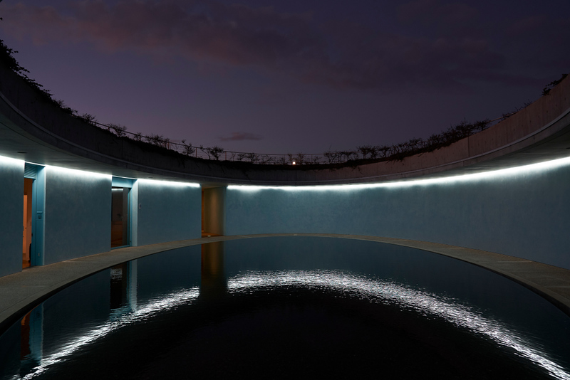 The Oval at Benesse House on Naoshima. Editorial credit: Creative Supreme NYC / Shutterstock.com