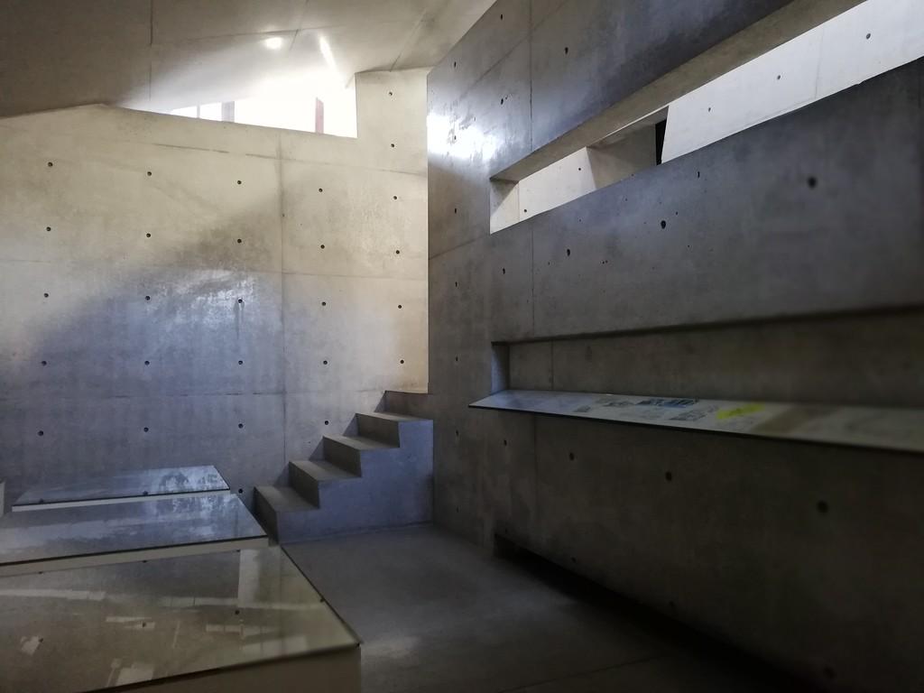 Ando Museum interior