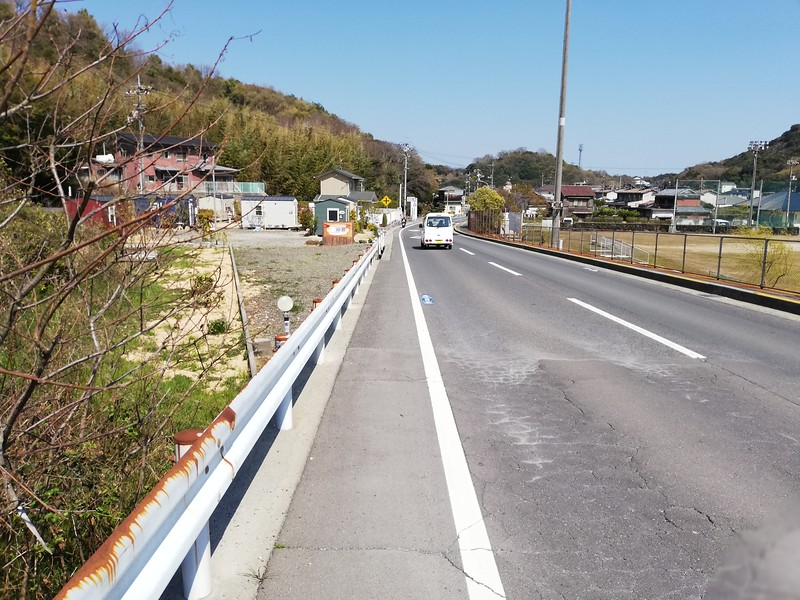 Road from Miyanoura to Honmura