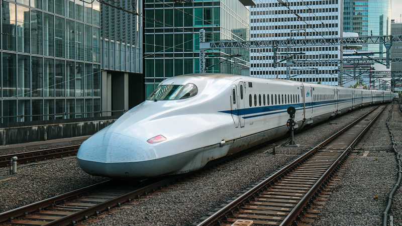 Shinkansen . Editorial credit: Benson Truong / Shutterstock.com
