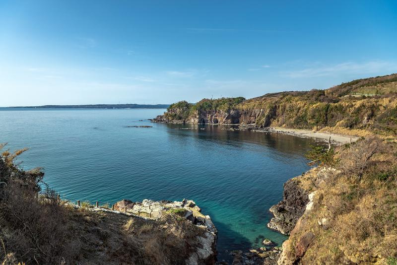 Noto Kongo coastline view. Editorial credit: mTaira / Shutterstock.com