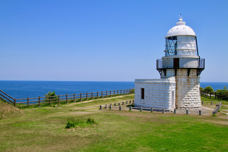 Cape Rokko-saki Lighthouse. Editorial credit: tk312001 / Shutterstock.com