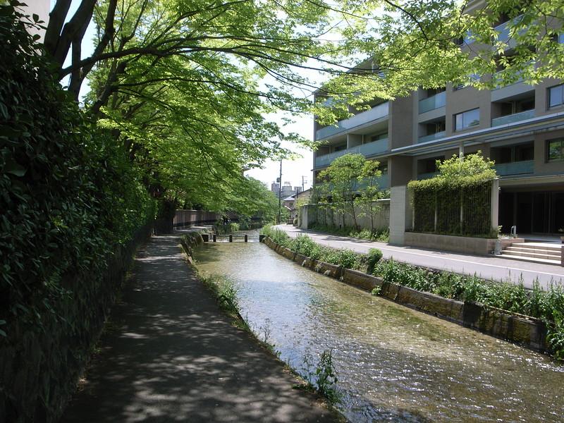 Shirakawa Canal south of Okazaki Koen