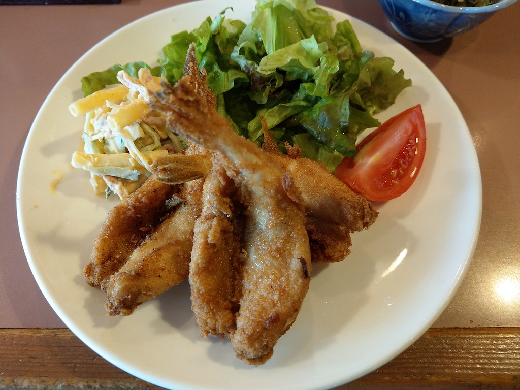 My pufferfish set lunch.