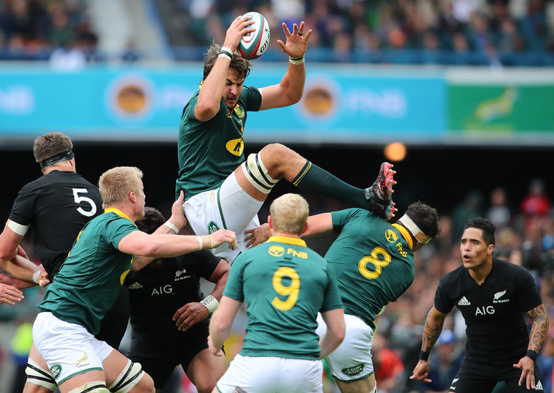 Rugby action in South Africa. Editorial credit: Roger Sedres / Shutterstock.com