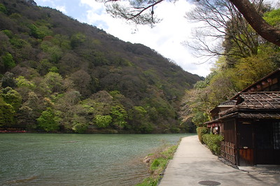 Hozugawa river