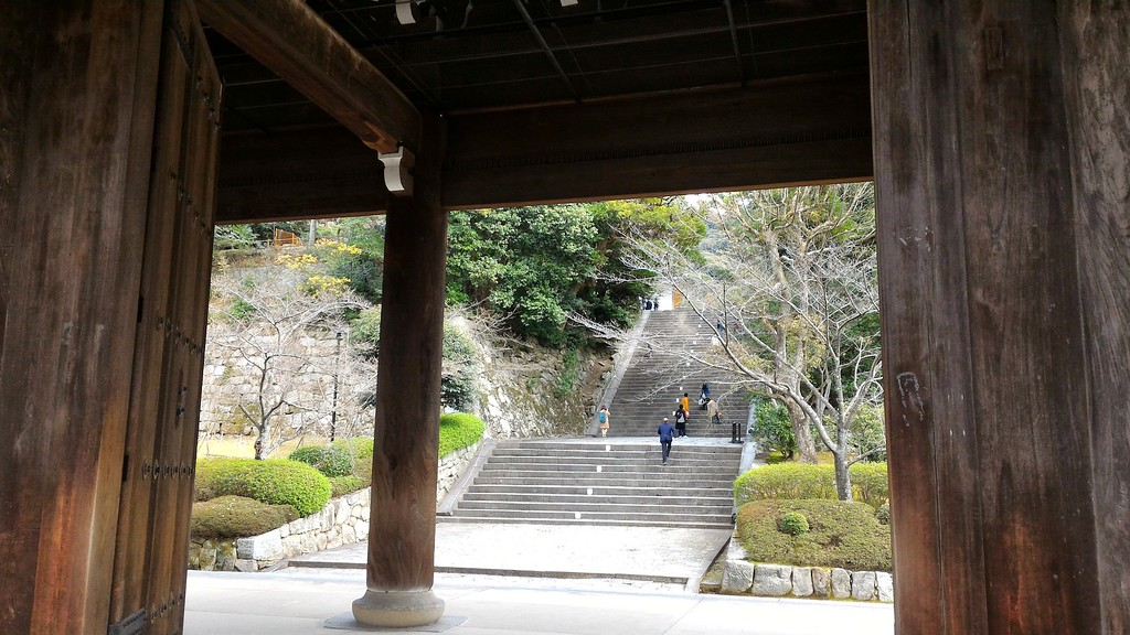 Stairs to Chion-in Temple