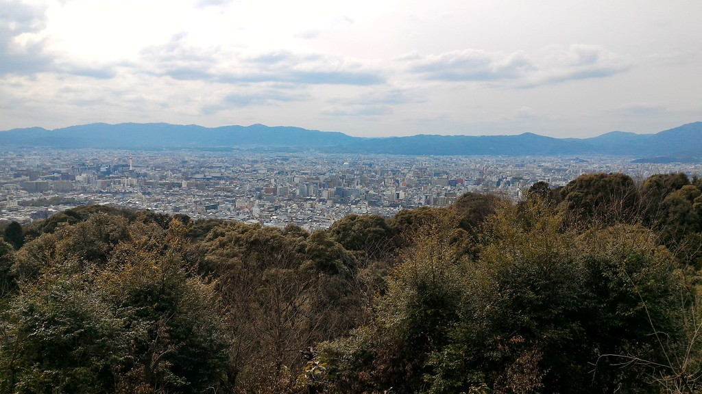 View From Shogunzuka Viewpoint