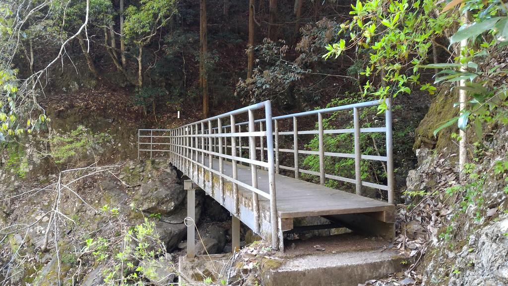 Bridge Above Swimming Hole