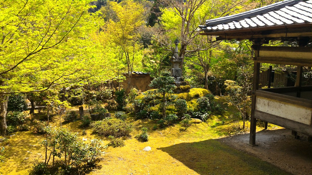 Garden at Saimyo-ji Temple