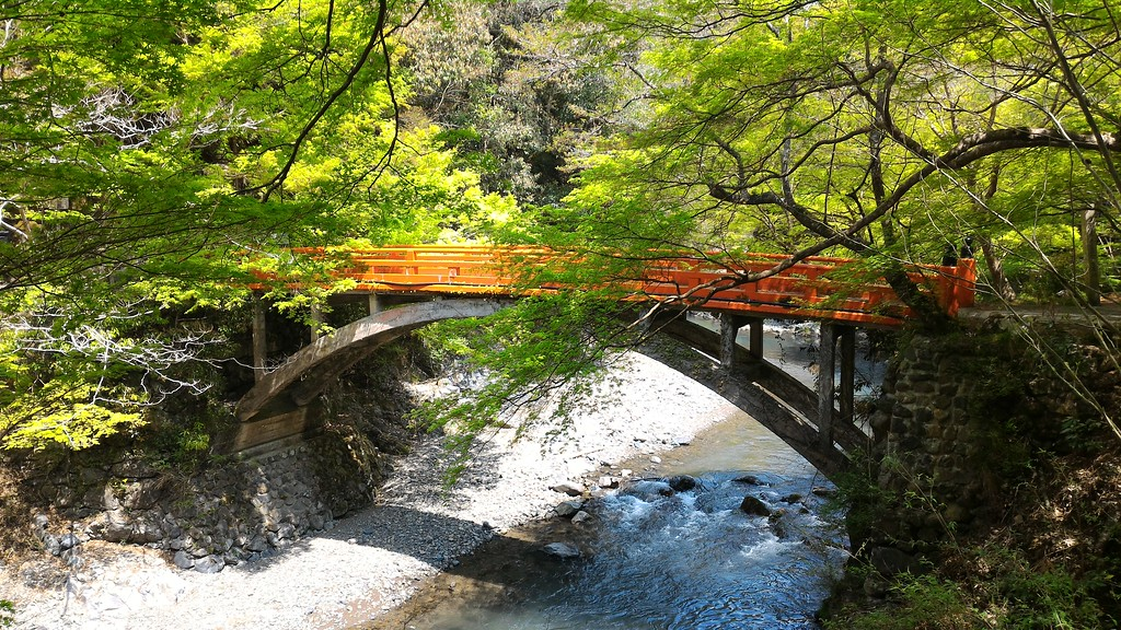 Bridge to Saimyo-ji Temple