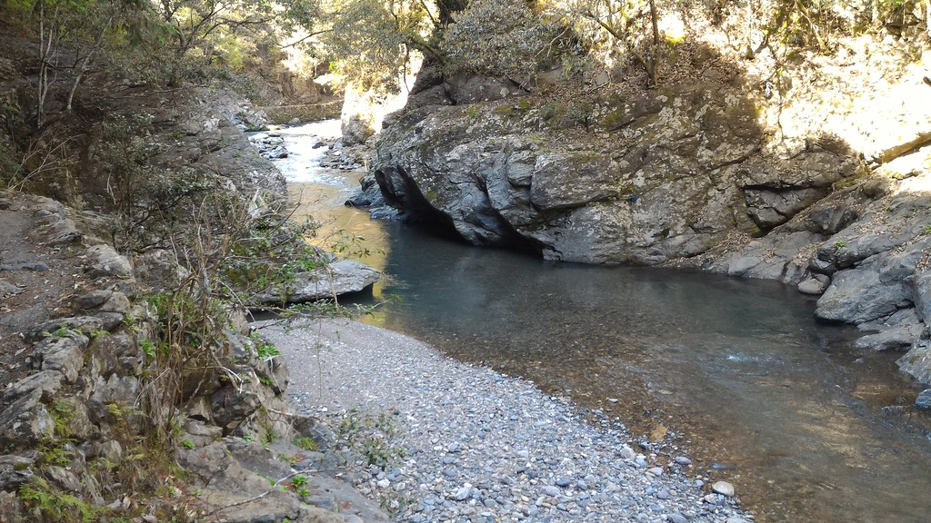 Swimming Hole on Kiyotaki-gawa River