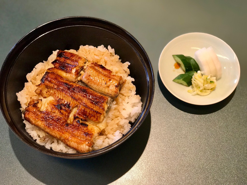 This eel bowl is greater than the sum of its parts