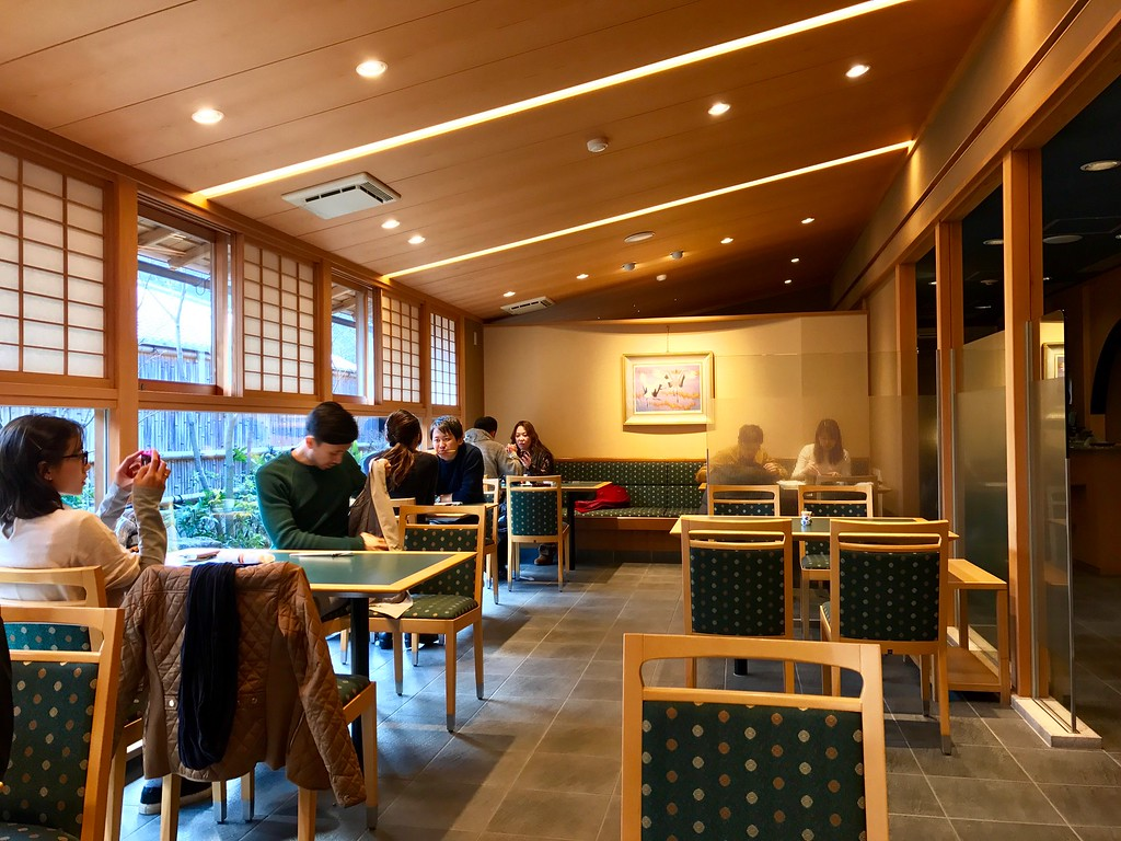 A comfortable and spacious restaurant
