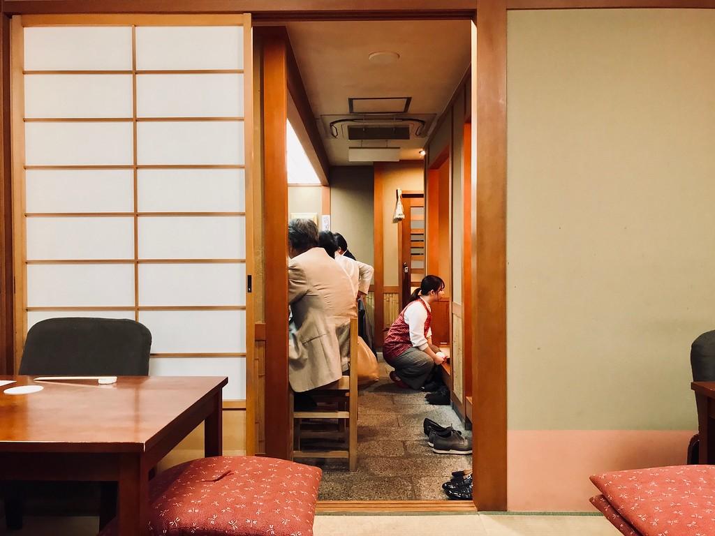 Inside Yasukawa.