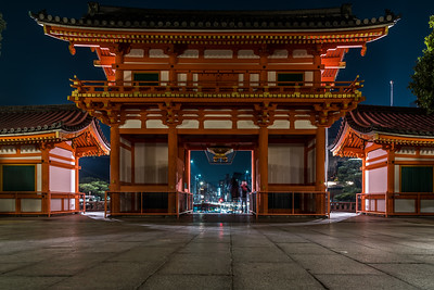 Yasaka Shrine Entrance.