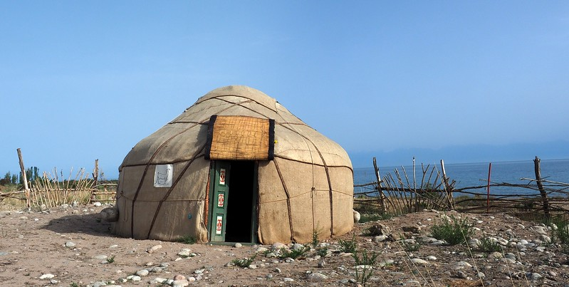 Staying at the Bel Tam Yurt Camp in Issyk Kul Lake's South Shore, Kyrgyzstan