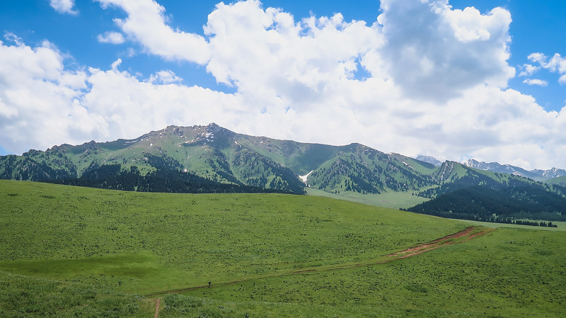 Going on a day hike from Karakol