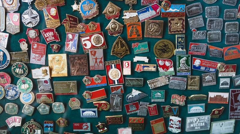 Souvenirs at the Antique Shop in Karakol