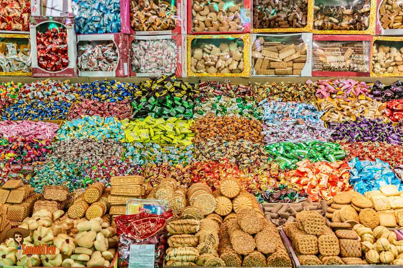คู่มือท่องเที่ยว Kyrgyzstan คีร์กีซสถาน travel guide, Central Asia เอเชียกลาง Osh bazaar, bishkek, บิชเคก, กรุงบิชเคก