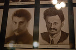 State Historical Museum: Stalin and Trotsky, side by side, interesting...