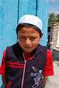 A muslim boy at the Dungan mosque.