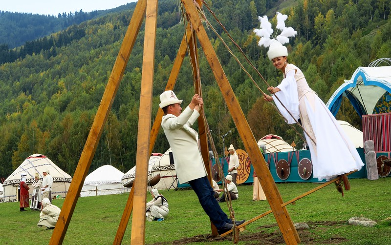 Folk Festival in the Kyrchyn Jailoo for the World Nomad Games 2016