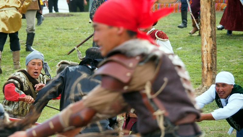 Another action shot from the world event in Kyrgyzstan