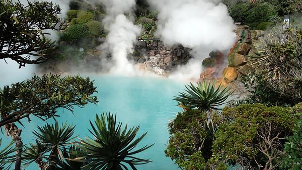 Jigoku Hot Springs, Beppu 2012