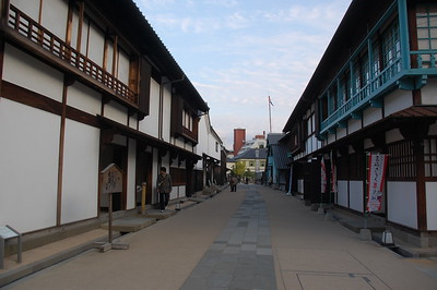 Inside Dejima, a former Dutch trading post