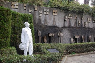 Statue of Pucinni, Glover Garden