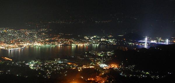 Nagasaki viewed from Mount Inasa