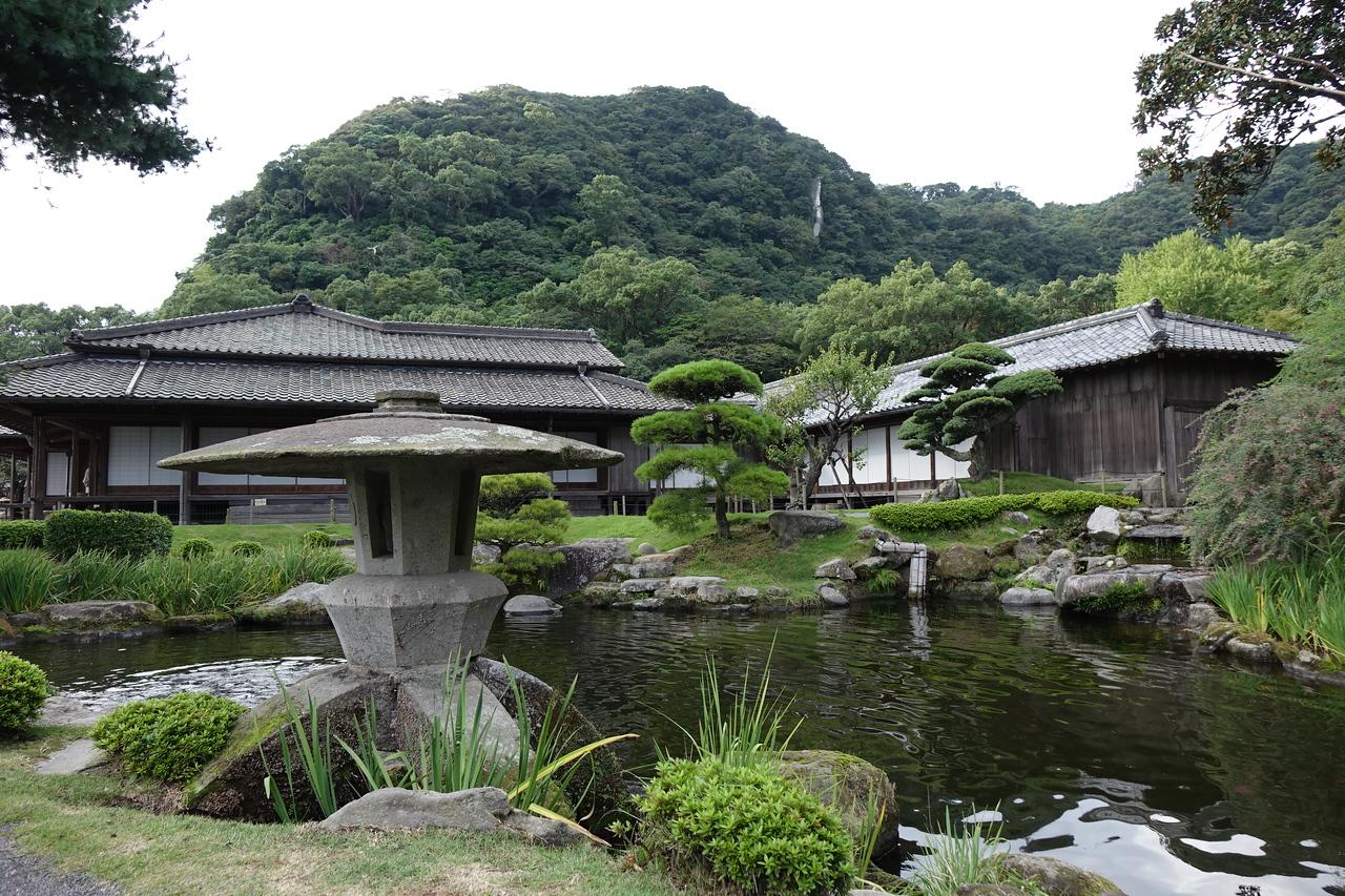 The Shimadzu family residence