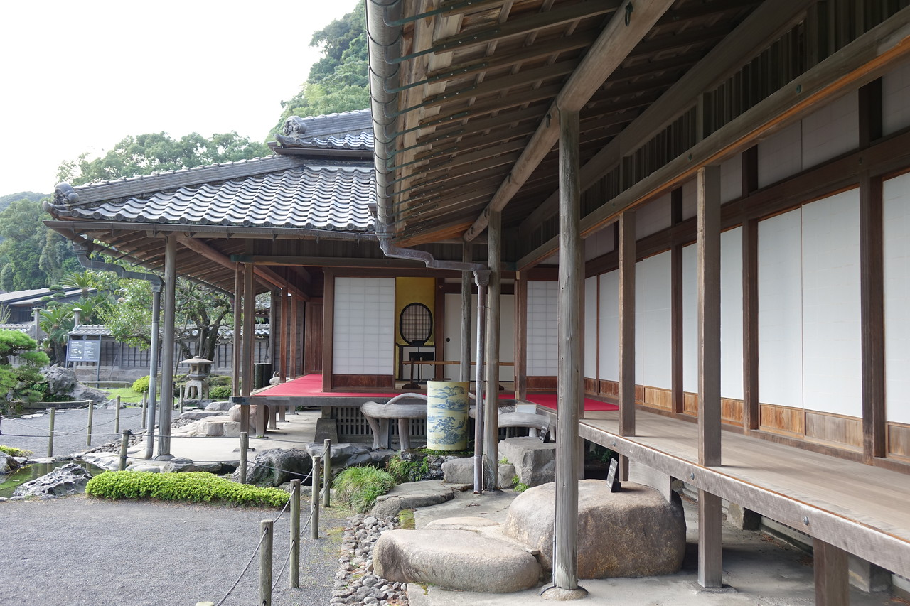 The Shimadzu family residence