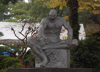Sculpture by Kitamura Seibo