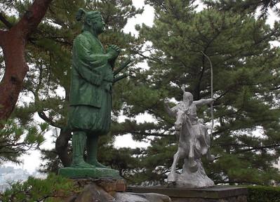 Sculptures by Kitamura Seibo