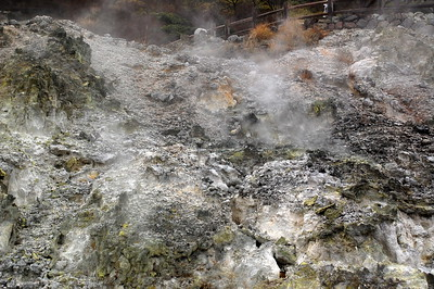 Unzen Jigoku hot springs