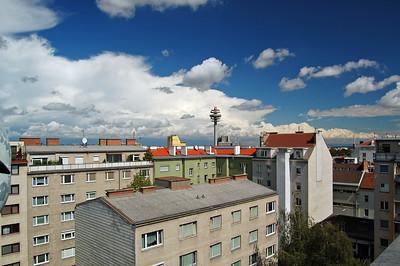 Dachwohnung-Panorama