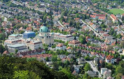 Berndorf von oben