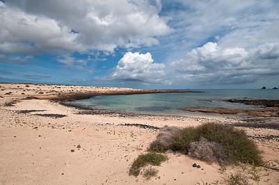 Ausgedehnter Strandspaziergang