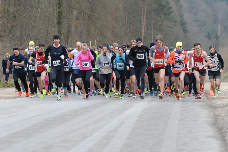 25. Frühlingslauf im Herblingertal, Schaffhausen, 13.03.2016 © Reinhard Standke