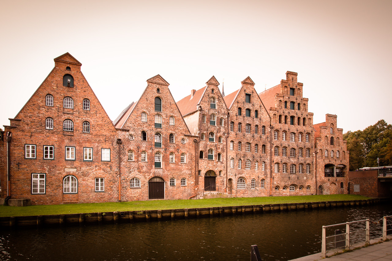 Lübeck; the Hanseatic city, Brick Gothic, Schleswig-Holstein, northern Germany