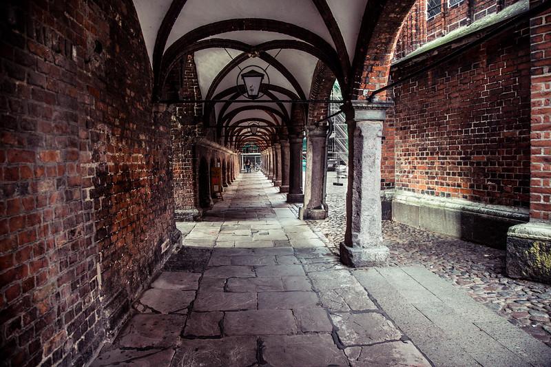 Lübeck; the Hanseatic city, Brick Gothic, Schleswig-Holstein, northern Germany,