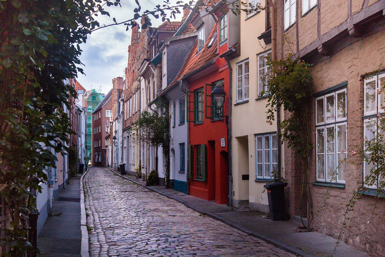 Old City, Altstadt of Lübeck