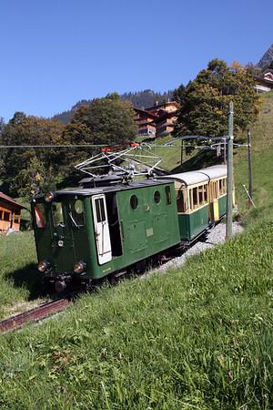 Switzerland L&CI Railtour of BOB & WAB 16th September 2007