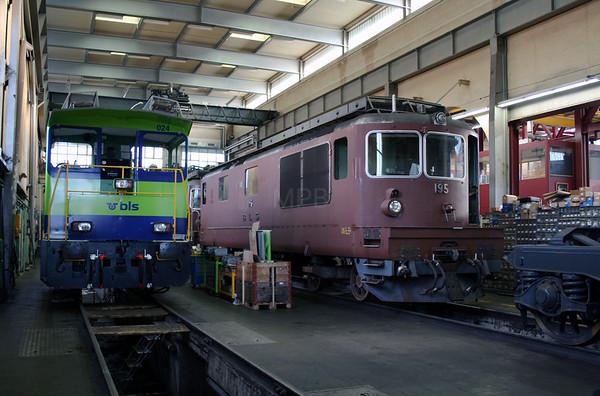 Switzerland L&CI Depot & Works Visit Sept 2007