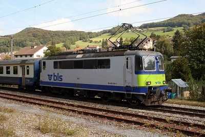 1) BLS, 420 502 at Laufelfingen on 15th September 2007