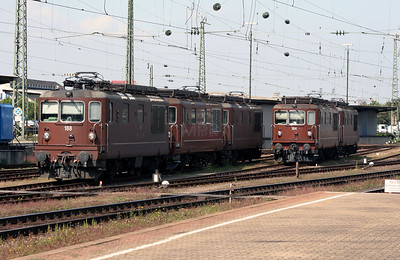 BLS, 188 & 164 at Basel Bad on 15th September 2007